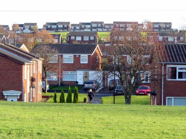 Chapel Park housing estate