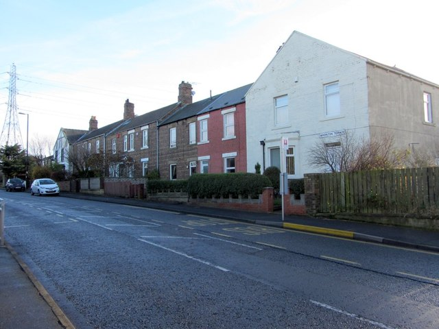 Whorlton Terrace, North Walbottle Road
