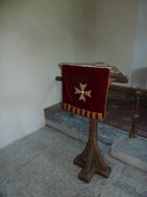 St Edwold, Stockwood: lectern