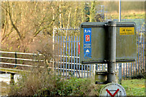 J2766 : National Cycle Network sign, Lambeg by Albert Bridge