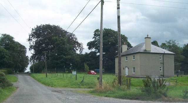 House on the eastern outskirts of Clonfinlough, Co. Offaly