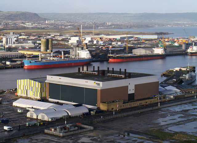 'Titanic Studios', Belfast