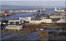 J3575 : Belfast docks from 'Samson' by Rossographer