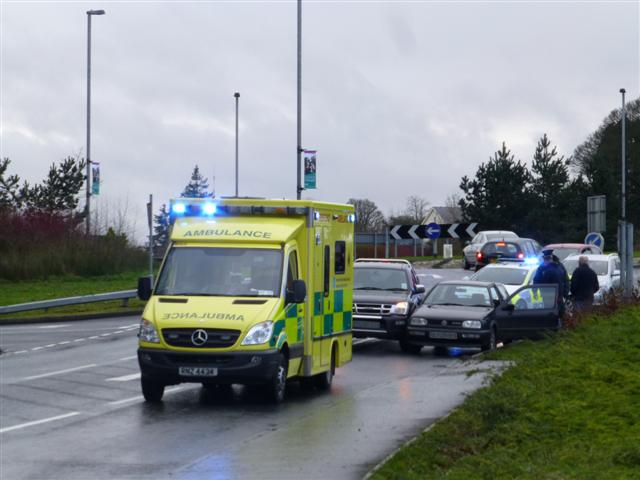 Road traffic accident, Crevenagh Road, Omagh