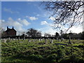 TQ1328 : St Nicholas, Itchingfield: churchyard (1) by Basher Eyre