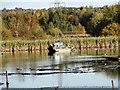 NZ1962 : Dredging raft on Shibdon Pond by Robert Graham