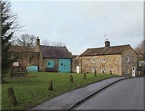SK2176 : Church Road, Eyam, Derbys. by David Hallam-Jones