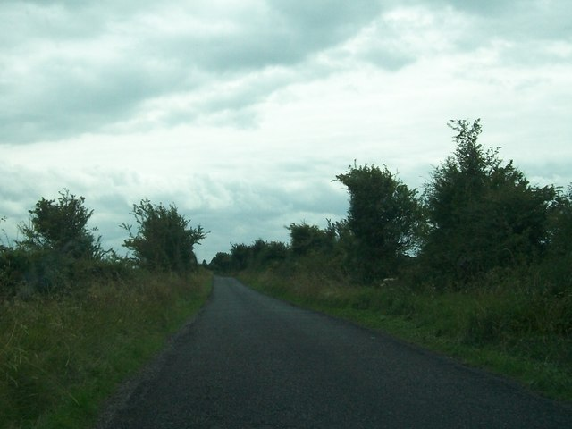Road from Clonfinlough about a kilometre north of the junction with the Belmont Road