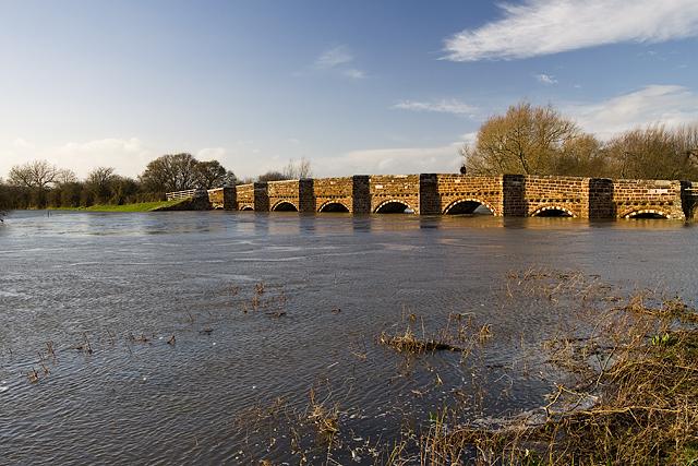 Jan 2014: flooding at White Mill Bridge