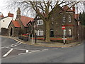 ST3490 : Corner of Castle Street and High Street, Caerleon by Jaggery