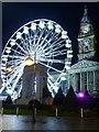 SD7109 : Big Wheel and Town Hall, Victoria Square by David Dixon