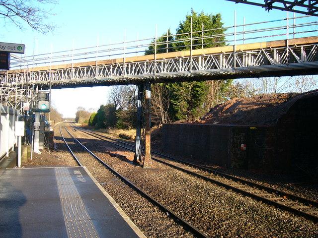Broad Lane bridge demolished