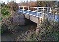 SU6273 : Bridge over The Bourne by Des Blenkinsopp