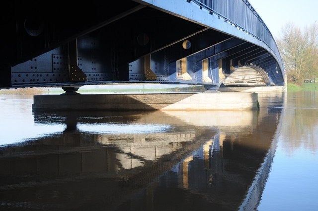 Below Upton Bridge