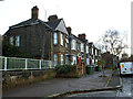 TQ4179 : Houses on Anchor and Hope Lane, Charlton by Stephen Craven