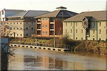 SK7954 : Nicholson's Wharf by Richard Croft