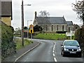 ST5243 : Coxley, Main Road (A39) and Christ Church by David Dixon