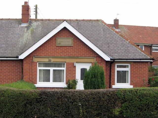 Aged Miners' Homes, Hillhead Road, Westerhope