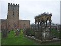 NU1734 : St Aidan's Church and Grace Darling Memorial, Bamburgh by Karl and Ali