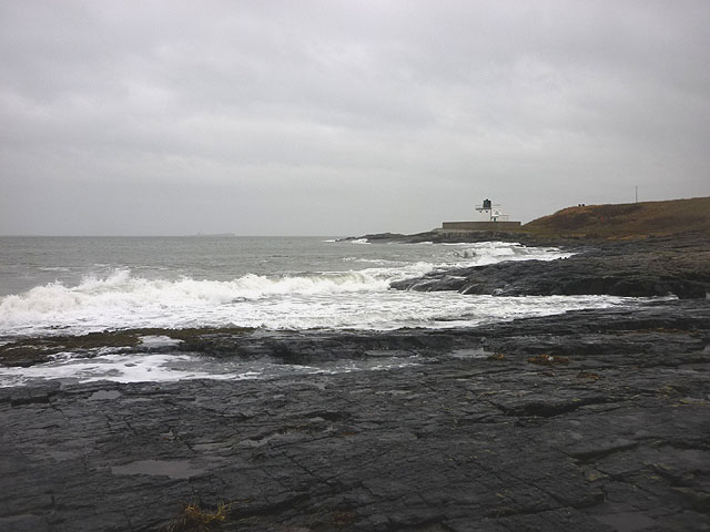 Wave-cut platform, Blackrocks Point