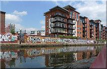 SJ8297 : Lambda Court apartment block, Salford by Geoff Royle