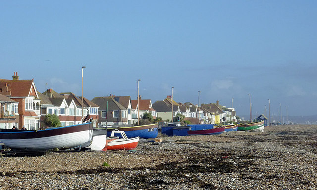 East Worthing beach, West Sussex