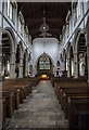 TQ7736 : Interior, St Dunstan's church, Cranbrook by Julian P Guffogg