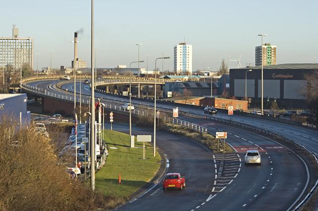 Daltry Street flyover, Hull