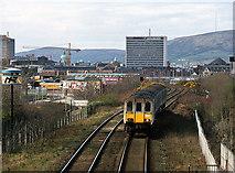 J3574 : 450 class set approaching Bridge End - 2000 by The Carlisle Kid
