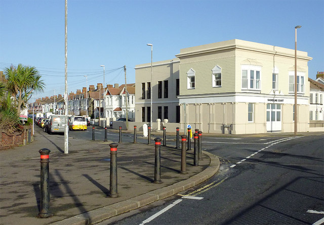Ham Road in East Worthing, West Sussex