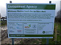 TF3902 : Environment Agency notice at Rings End - The Nene Washes by Richard Humphrey