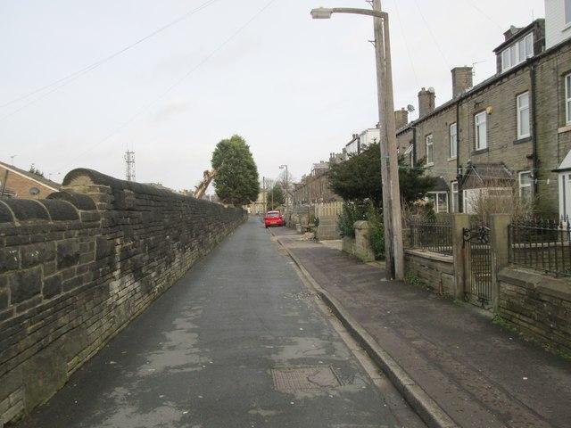 Kingston Street - looking towards Hopwood Lane