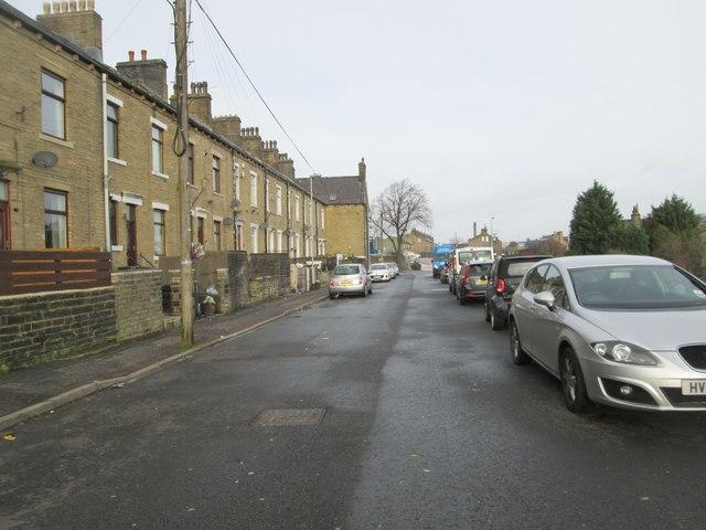 Vickerman Street - looking towards Hopwood Lane