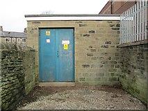 SE0724 : Electricity Substation No 1462 - Hopwood Lane by Betty Longbottom