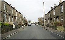 SE0724 : Pear Street - looking towards Hopwood Lane by Betty Longbottom