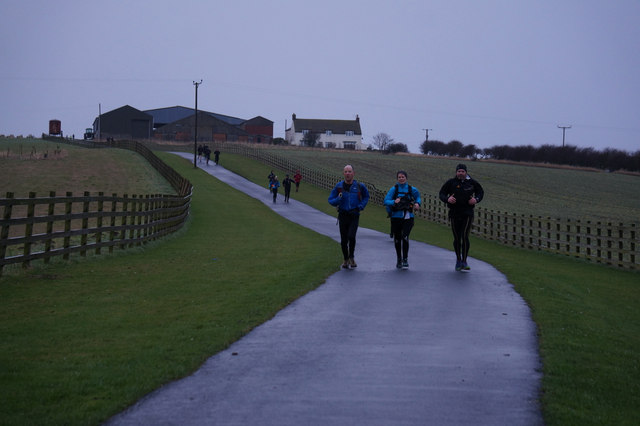 Runners on the Filey Flyer
