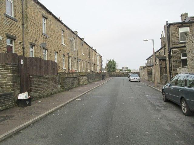 Essex Street - looking towards Hopwood Lane