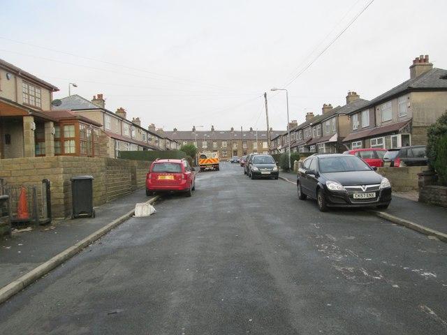 Gibraltar Avenue - looking towards Hopwood Lane