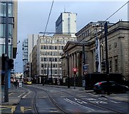 SJ8498 : Mosley Street, Manchester by Andrew Hill