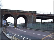 TQ7369 : Station Road, Strood by Chris Whippet