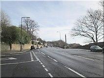 SE0724 : Rochdale Road - viewed from Green Lane by Betty Longbottom