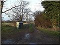 TM4274 : Entrance to Marsh Farm by Geographer