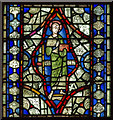 SK9771 : St Barnabas, Stained Glass window, Lincoln Cathedral by J.Hannan-Briggs
