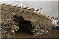 SN5882 : Marine Terrace - storm damage by Ian Capper