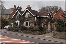SU1584 : Ivy-clad stone house, Drove Road, Swindon by Jaggery