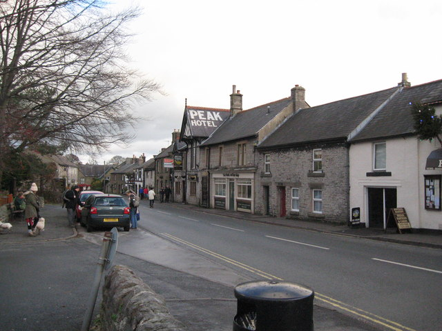 Castleton in December-Derbyshire