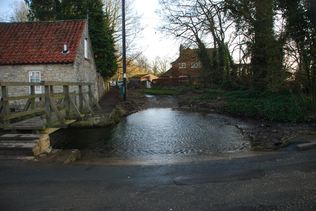 Double Ford at Thornton-le-Dale