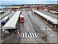 SJ9399 : Ashton Bus Station by David Dixon