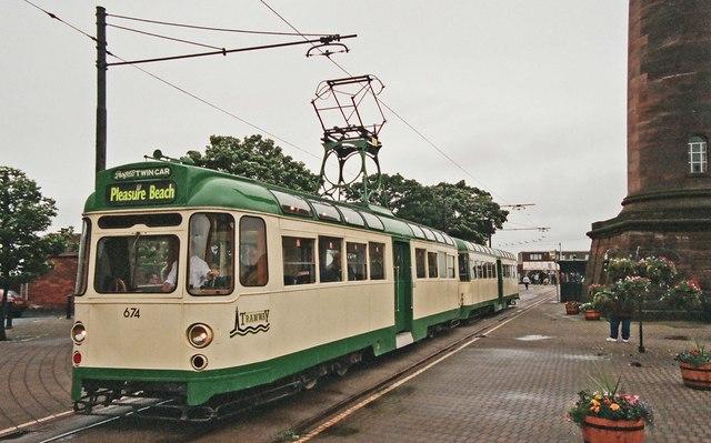 Blackpool Progress Twin Car Tram Amp 169 P L Chadwick