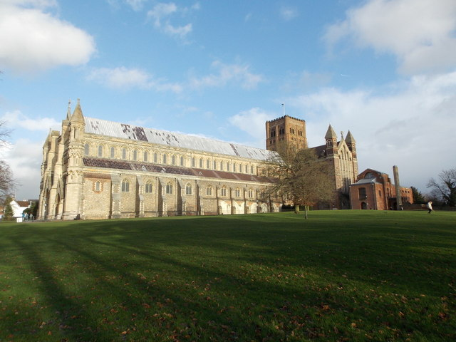 St. Albans: the cathedral and abbey church of St. Alban